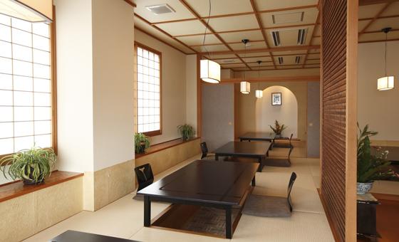 レストラン「七海」 内観